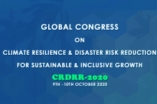 Global Congress on Climate Resilience and Disaster Risk Reduction logo. Image: CEED