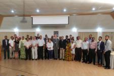 Participants in the UNESCO-IOC training workshop