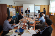 Technical advisory service provided to the National Remote Sensing Center of Mongolia in 2013