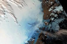 Ice change in Greenland. Courtesy of ESA