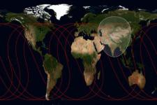 Ground track of BeiDou 2012 (Image: NASA/ Secretlondon)