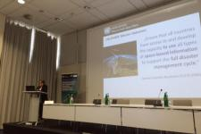 UNOOSA director Simonetta Di Pippo highlighted the role of satellite data in disaster risk reduction and sustainable development.