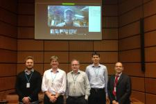 Representatives of the autumn IWG-SEM meeting 2015 participated in-person as via web (Image:Fabio Giulio Tonolo/ITHACA).