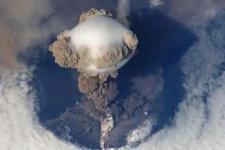 Volcanic eruption. Image: Copernicus RUS.