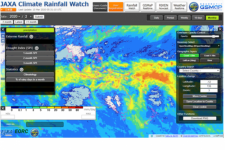 JAXA Climate Rainfall Watch. Image: JAXA.