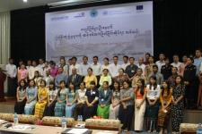 Training course on 'Post Disaster (Earthquake) Rapid Damage Assessment' in Myanmar
