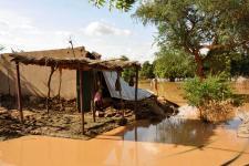 Flood in Niger in 2012.