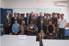Participants of the training programme in Beijing.
