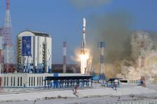 Soyuz-2.1a lifts off from Vostochny Cosmodrome on 1 February.