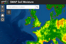 Screenshot of the SMAP tool in action. Image: NASA