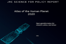 Cover of the JRC Atlas of the Human Planet 2020 report. Image: Joint Research Centre (JRC) of the European Commission.