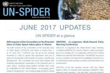 UN-SPIDER Updates June 2017