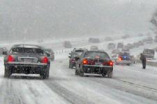 Accident caused by heavy snowfall in Virginia, USA. Image: Joe Loong