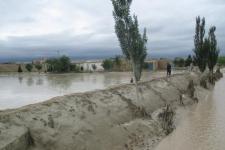 Flash floods in Afghanistan in 2016.