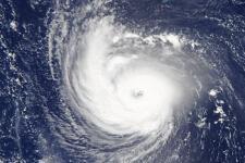 Hurricane Florence (2018). Image: NASA Earth Observatory.