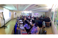 Training on Synthetic Aperture Radar (SAR) satellite imagery use in Gabon