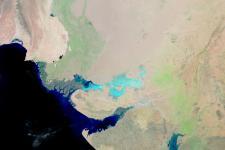 Satellite Image of Pakistan