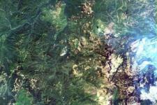 An image captured by the 16m resolution multispectral wide-angle colour camera on the Gaofen-6 earth observation satellite. Image: CNS/RADI/CAS.