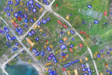 Mapping Cyclone Pam's destruction with drones.