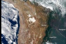 South America. Image courtesy of NASA