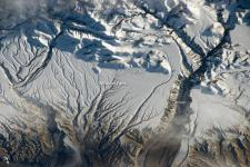 Himalaya space photograph. Image: NASA