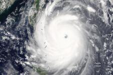 Nepartak Typhoon. Image courtesy of NASA by Jeff Schmaltz, LANCE/EOSDIS Rapid Response. Caption by Pola Lem.