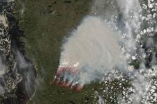 QUEBEC NASA MODIS image, 19 June 2013