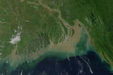 Ganges River Delta.