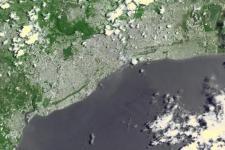 Santo Domingo. Image courtesy of NASA.