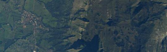 The hazards and vulnerability atlas created by RCMRD will cover the whole of Malawi (Image: NASA)