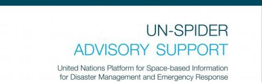 UN-SPIDER technical advisory support booklet